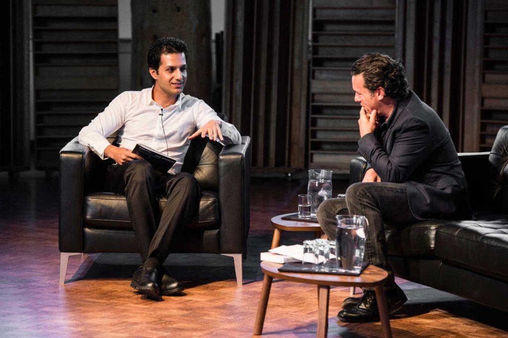 دیدار جوزف بویدن نویسندهی کانادایی و محمد جوادی به روایت تصویر
